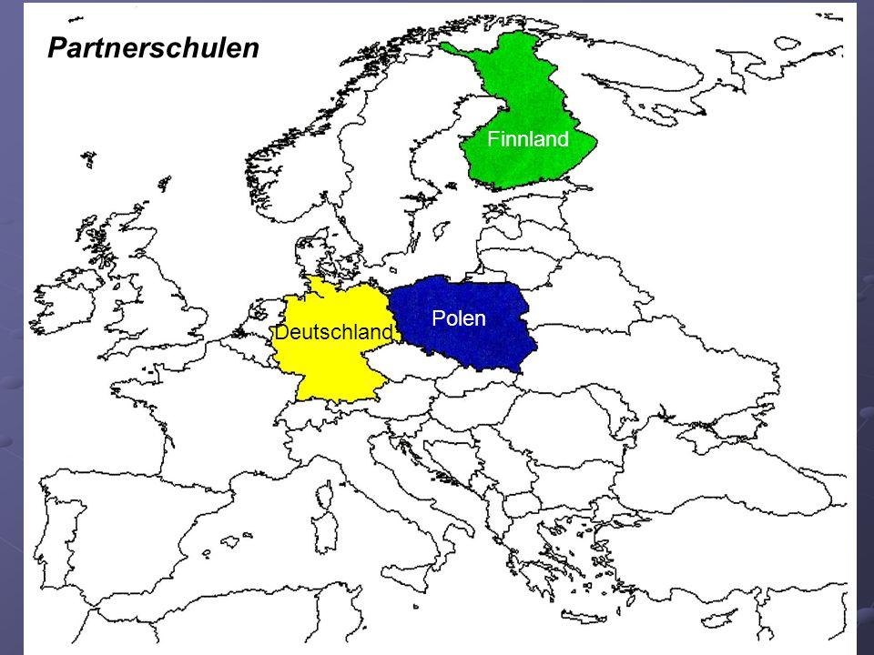 Partnerschulen Finnland Polen Deutschland