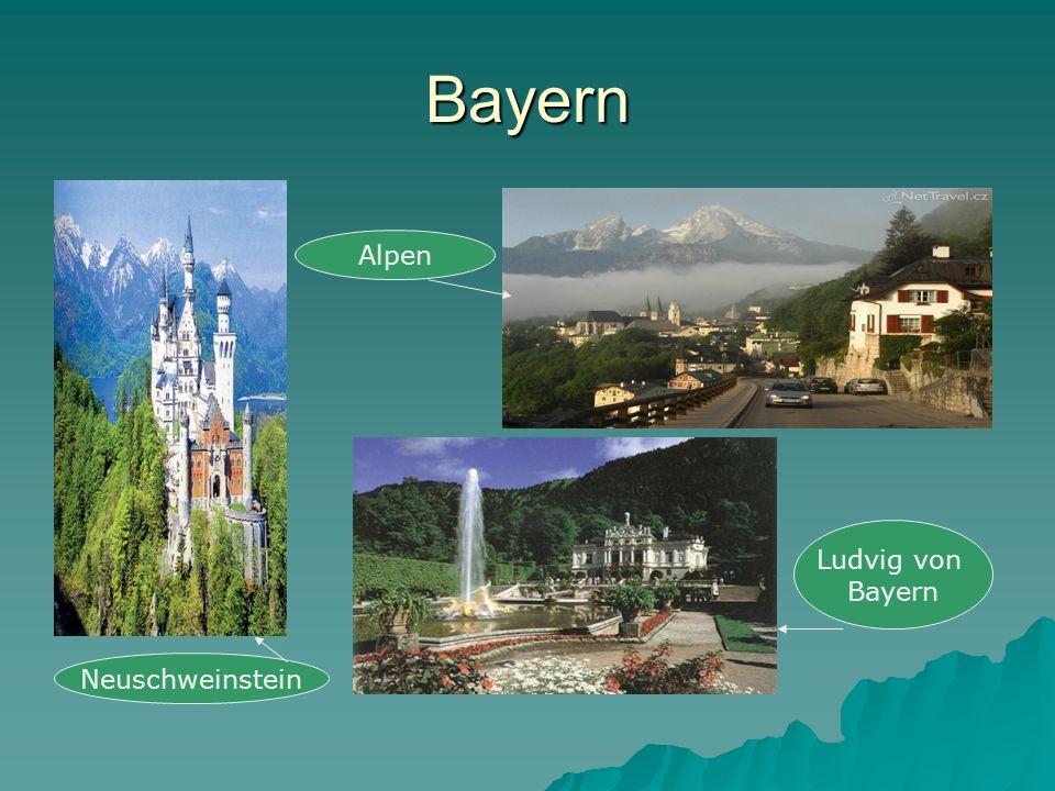 Bayern Alpen Ludvig von Bayern Neuschweinstein