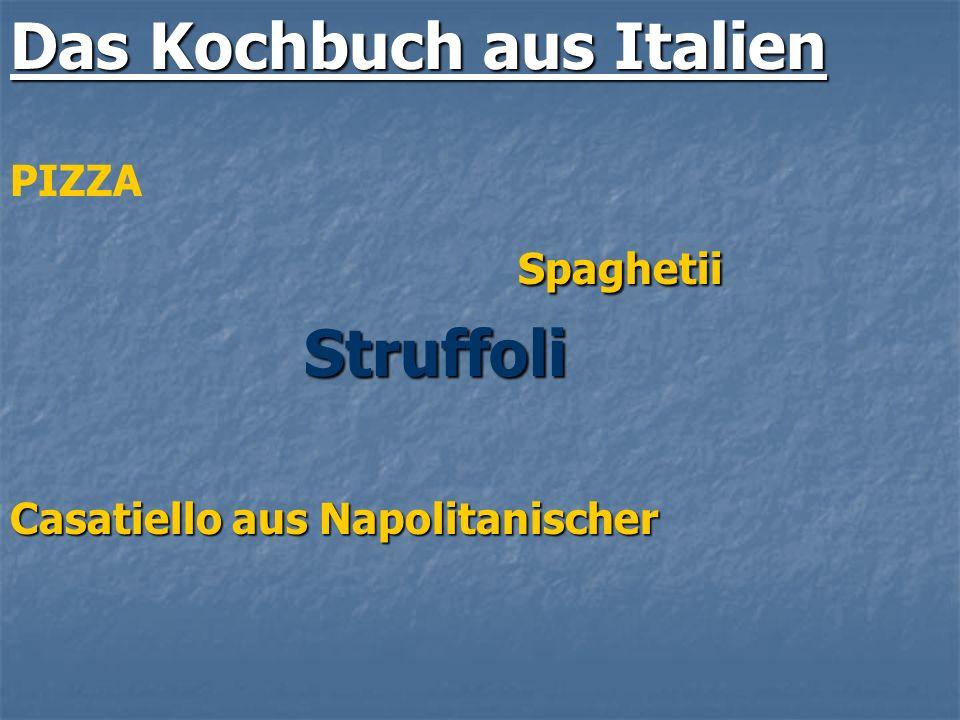 Das Kochbuch aus Italien