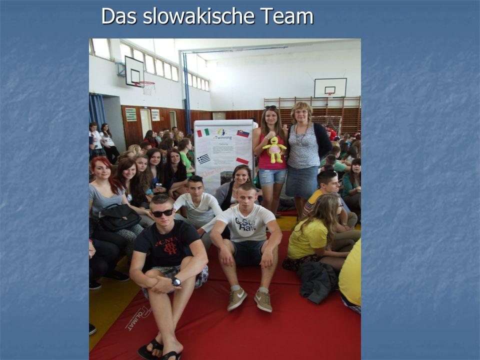 Das slowakische Team