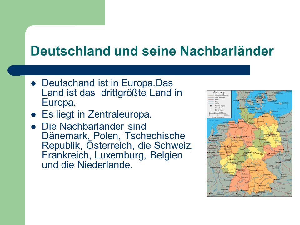 Deutschland und seine Nachbarländer