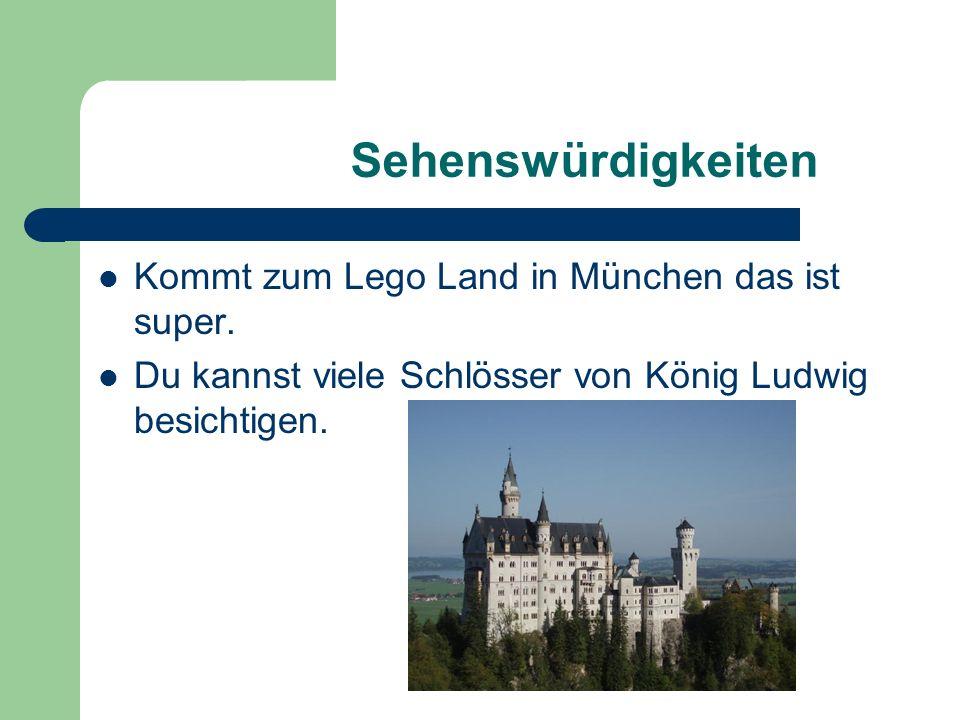 Sehenswürdigkeiten Kommt zum Lego Land in München das ist super.