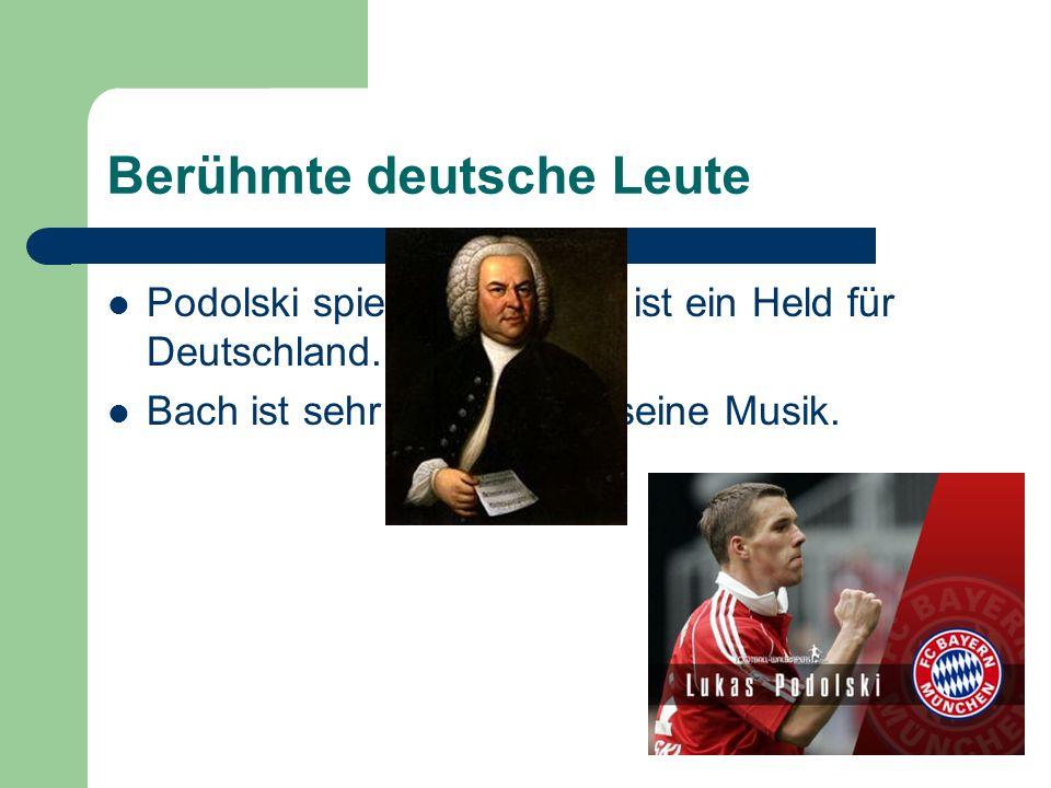 Berühmte deutsche Leute