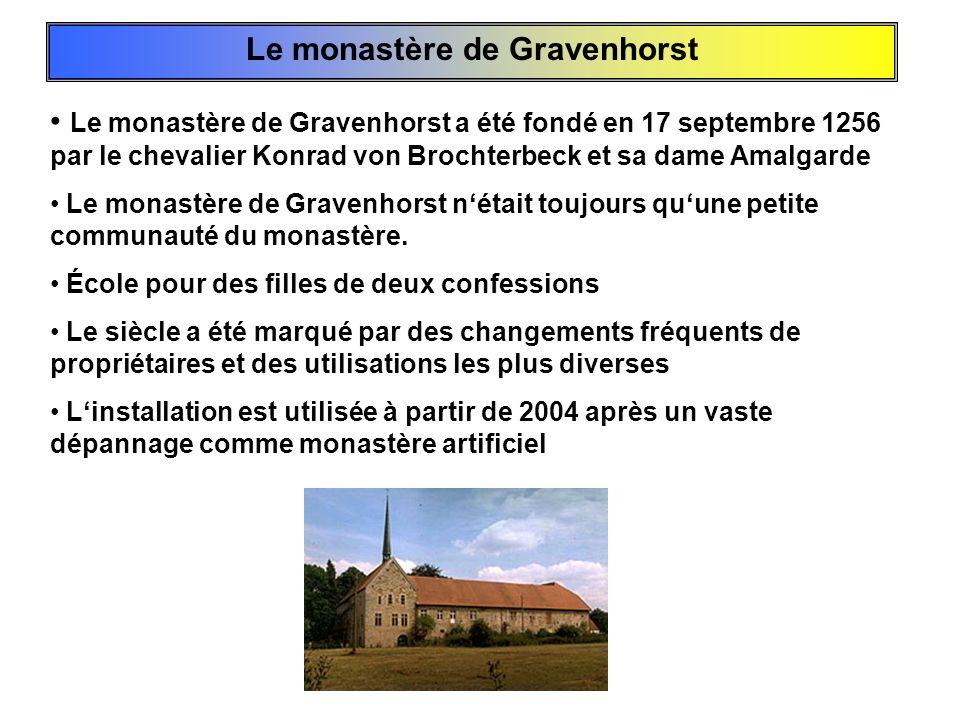 Le monastère de Gravenhorst