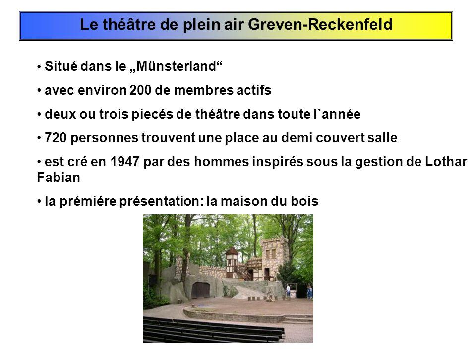 Le théâtre de plein air Greven-Reckenfeld
