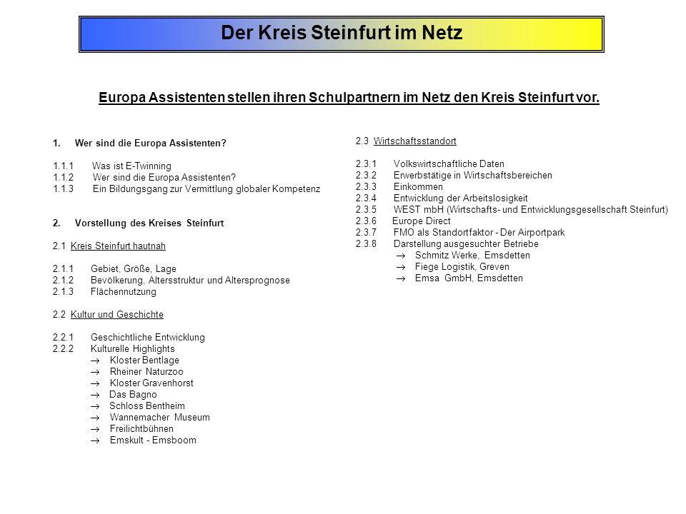 Der Kreis Steinfurt im Netz
