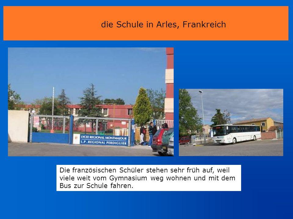 die Schule in Arles, Frankreich