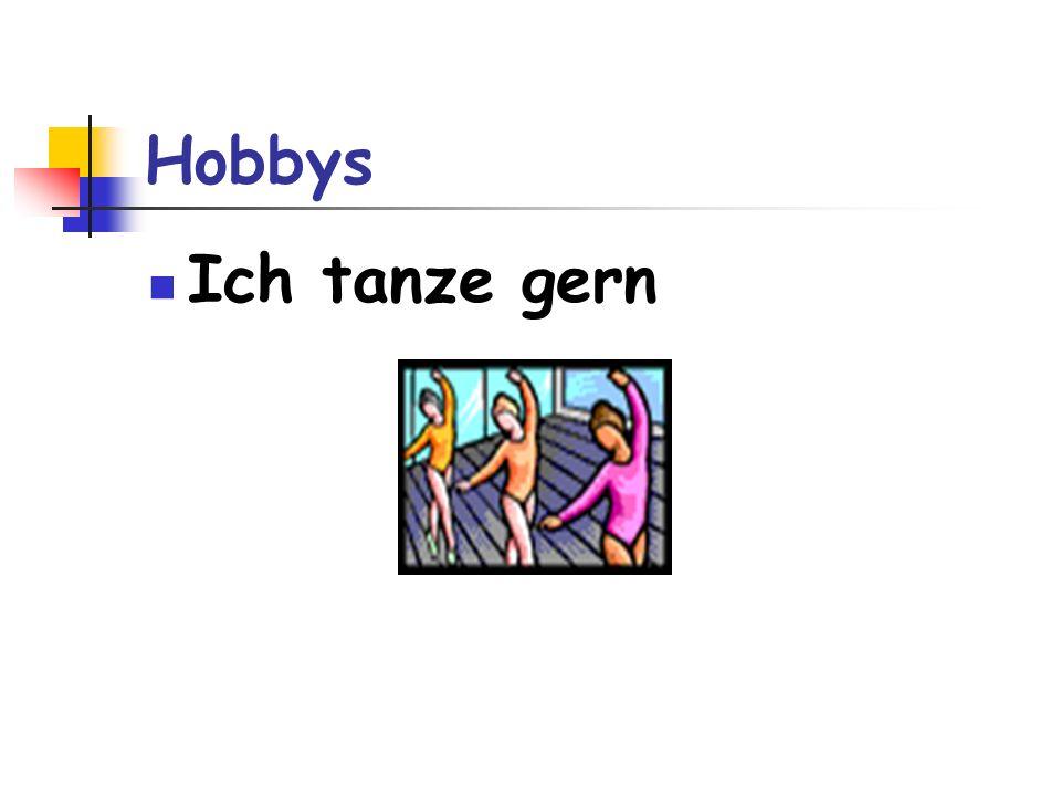 Hobbys Ich tanze gern