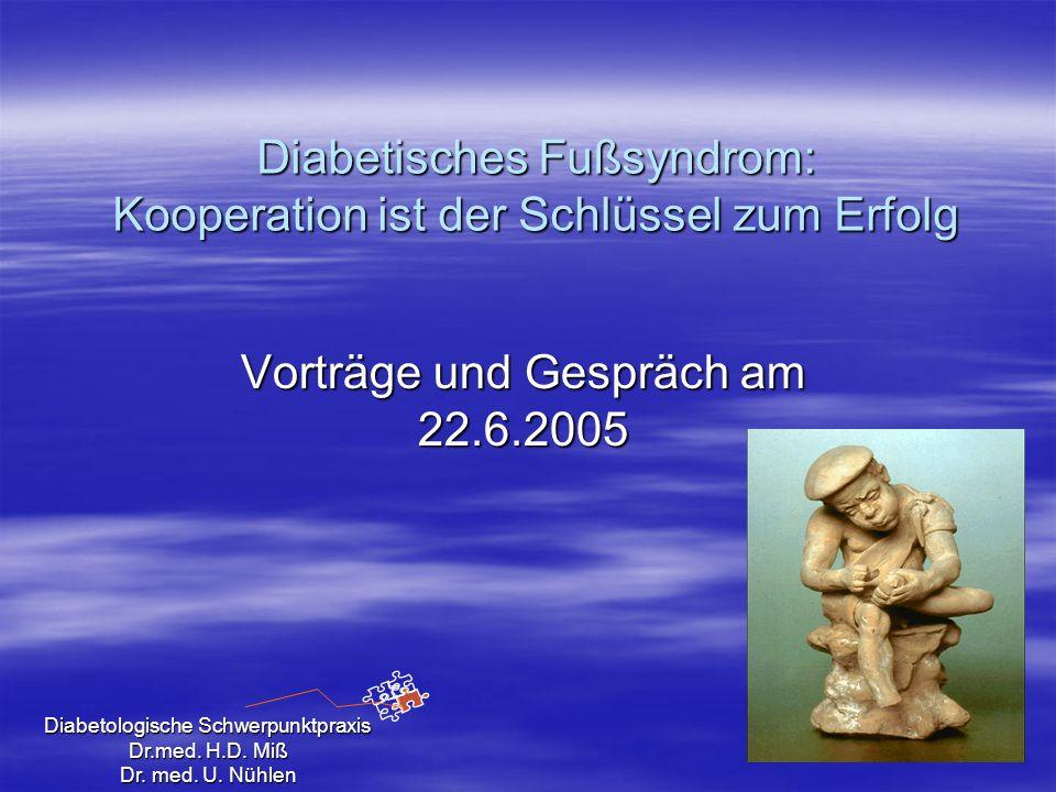 Diabetisches Fußsyndrom: Kooperation ist der Schlüssel zum Erfolg