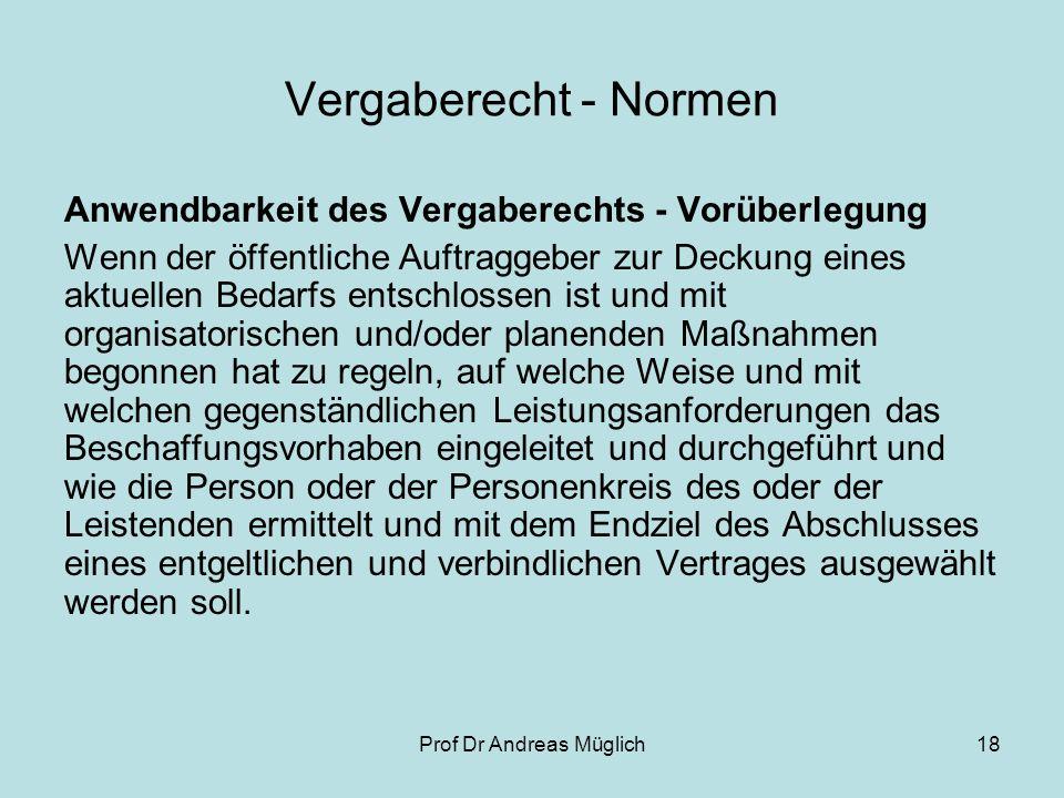 Prof Dr Andreas Müglich