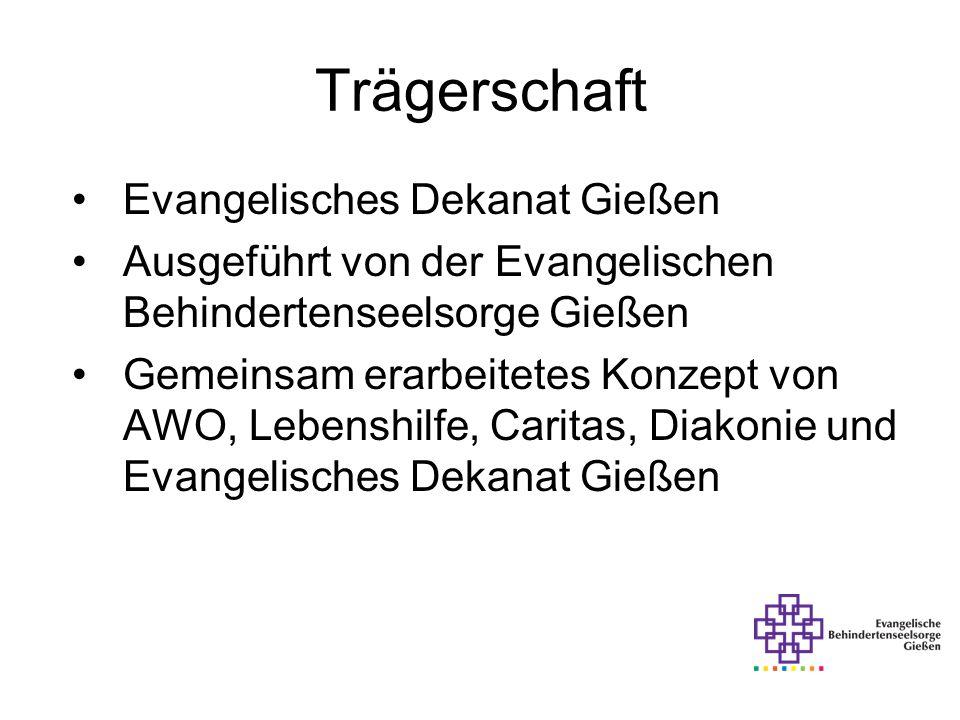 Trägerschaft Evangelisches Dekanat Gießen