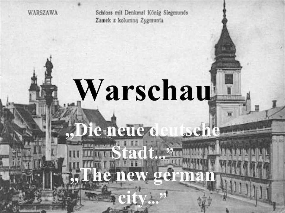 """""""Die neue deutsche Stadt..."""