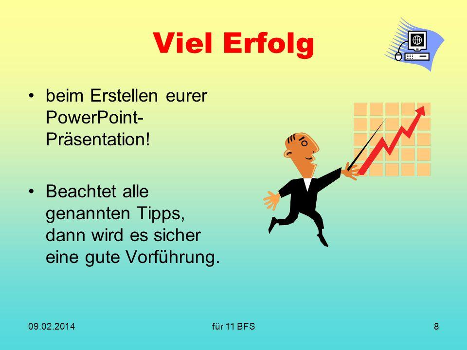 Viel Erfolg beim Erstellen eurer PowerPoint-Präsentation!