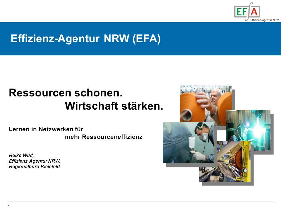 Effizienz-Agentur NRW (EFA) Effizienz-Agentur NRW (EFA)