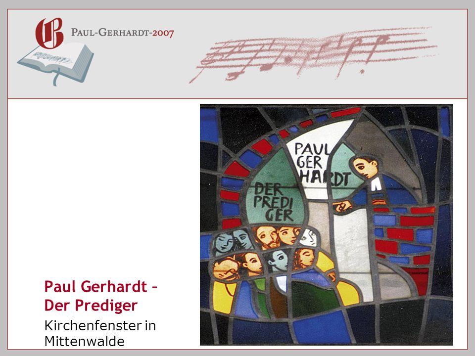 Paul Gerhardt – Der Prediger