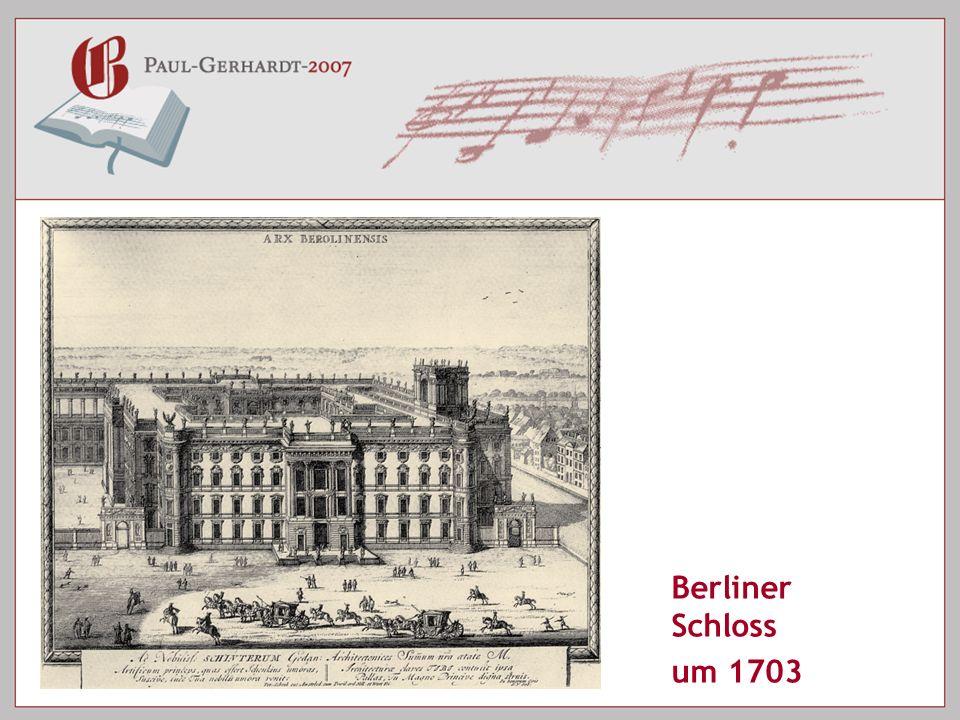 Berliner Schloss um 1703