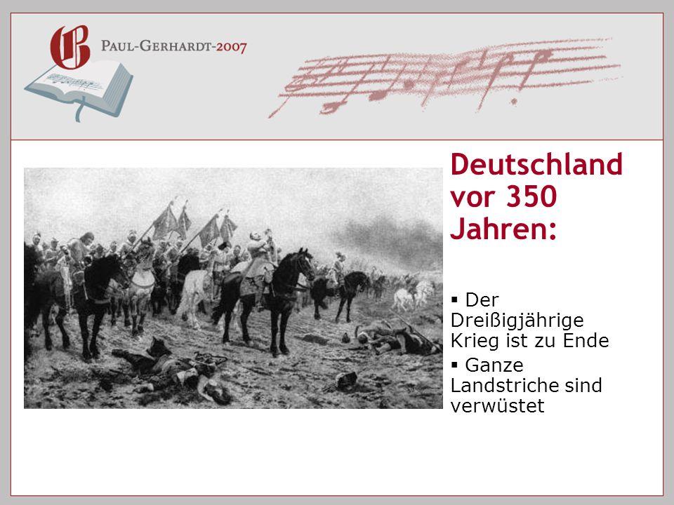 Deutschland vor 350 Jahren: