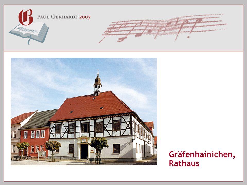Gräfenhainichen, Rathaus