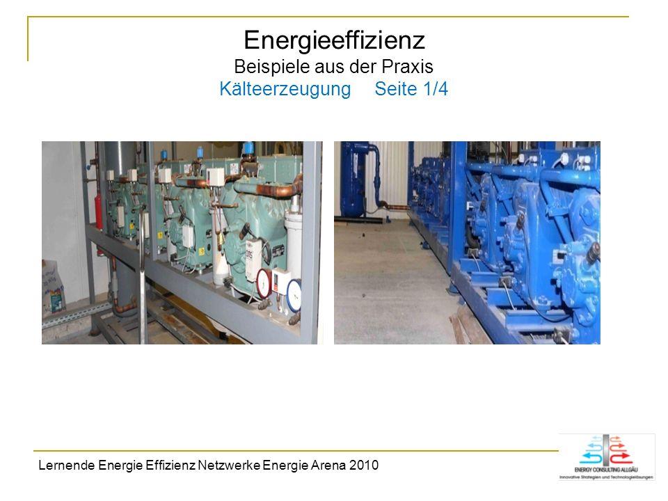 Energieeffizienz Beispiele aus der Praxis Kälteerzeugung Seite 1/4