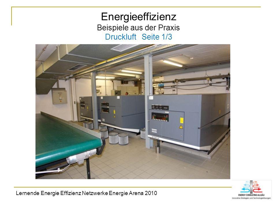 Energieeffizienz Beispiele aus der Praxis Druckluft Seite 1/3