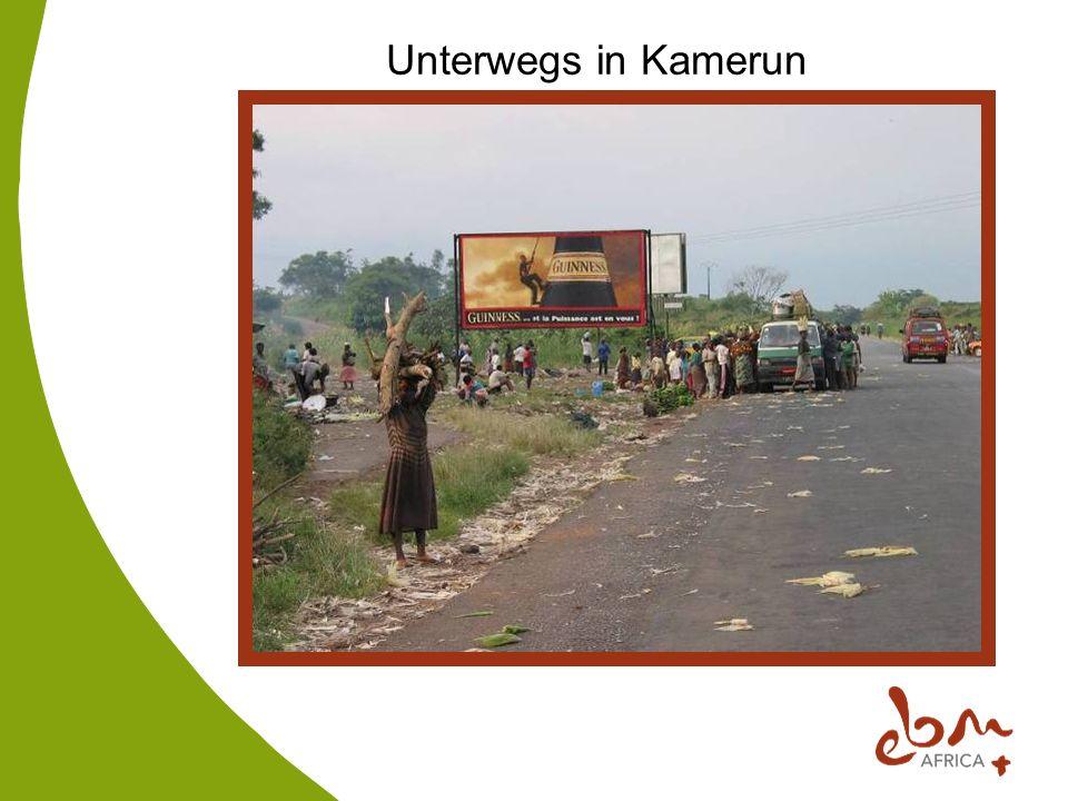 Unterwegs in Kamerun
