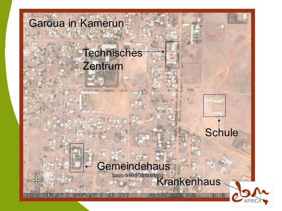 Garoua in Kamerun Technisches Zentrum Schule Gemeindehaus Krankenhaus