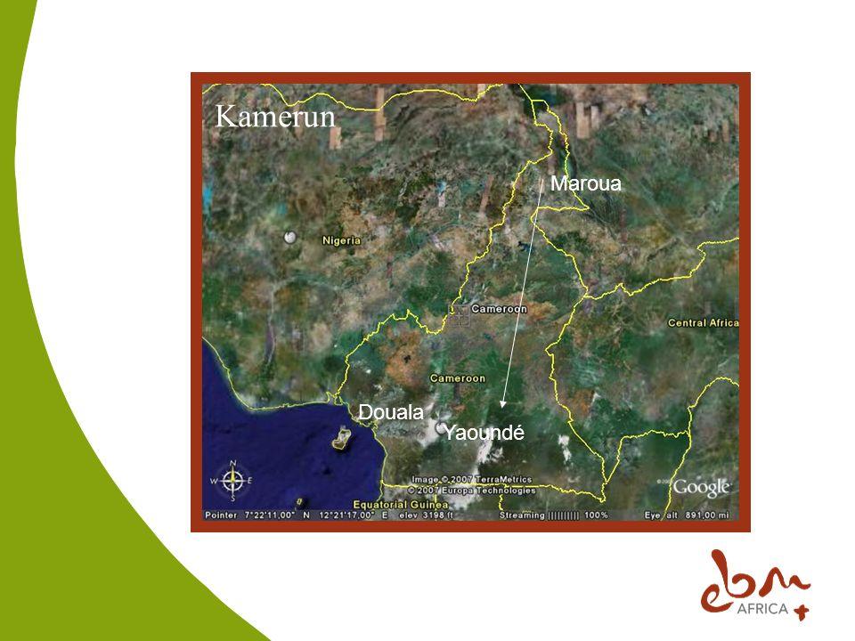 Kamerun Maroua Douala Yaoundé