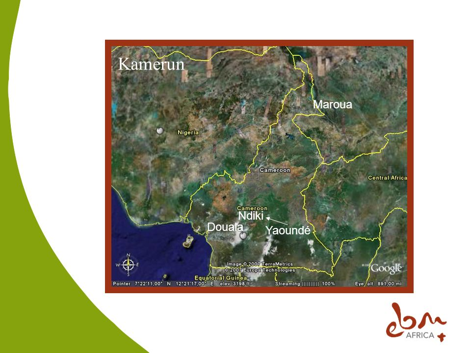 Kamerun Maroua Ndiki Douala Yaoundé