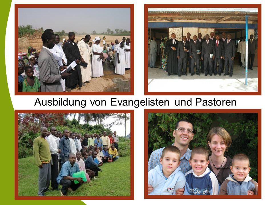 Ausbildung von Evangelisten und Pastoren