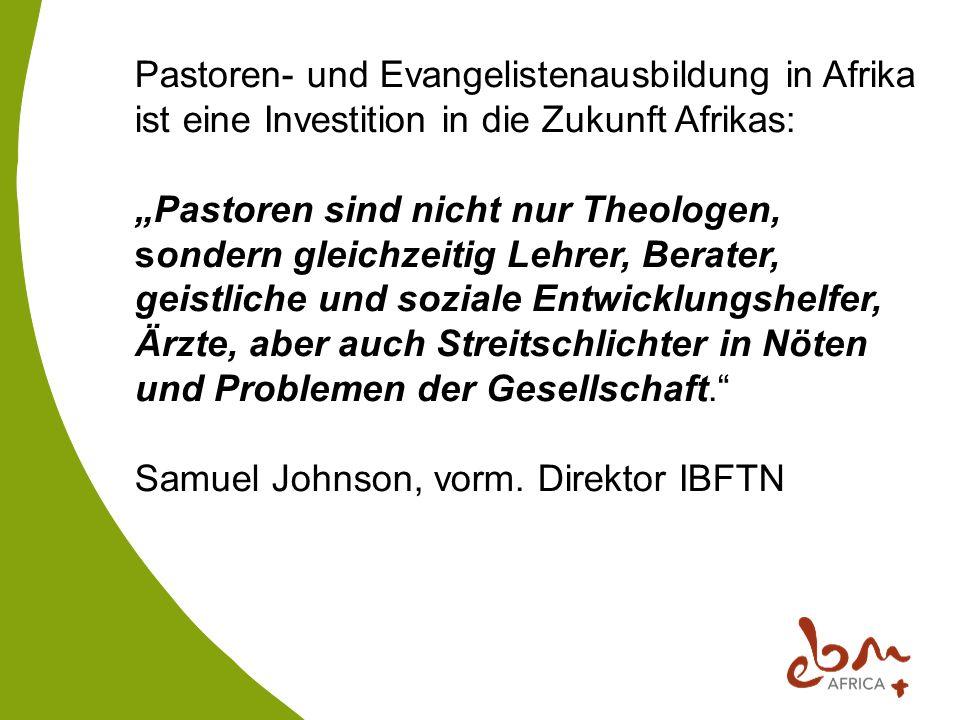 Pastoren- und Evangelistenausbildung in Afrika