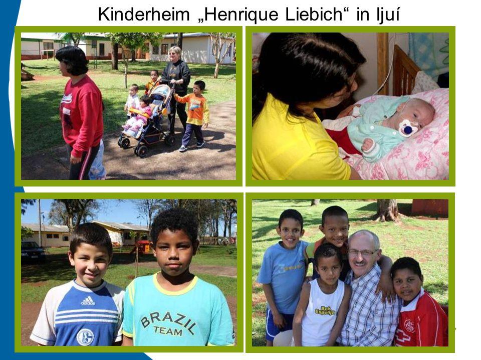 """Kinderheim """"Henrique Liebich in Ijuí"""