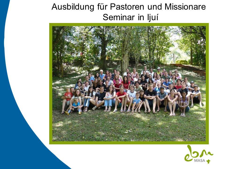 Ausbildung für Pastoren und Missionare