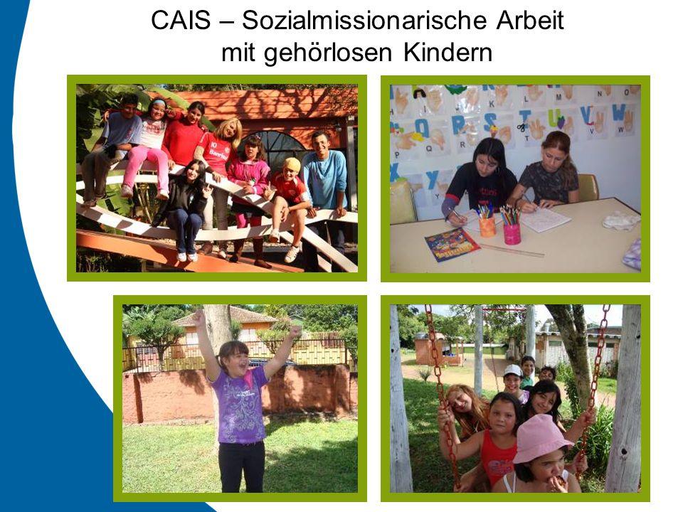 CAIS – Sozialmissionarische Arbeit mit gehörlosen Kindern