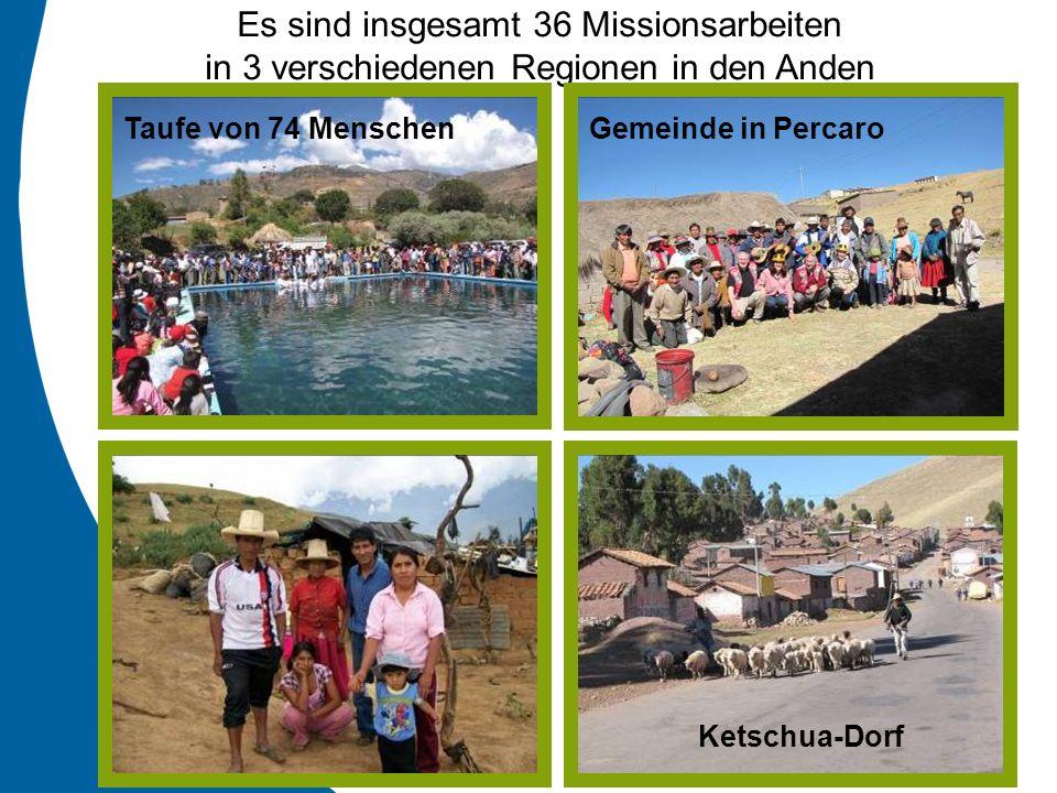 Es sind insgesamt 36 Missionsarbeiten