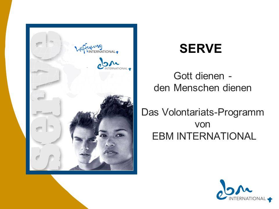 Das Volontariats-Programm