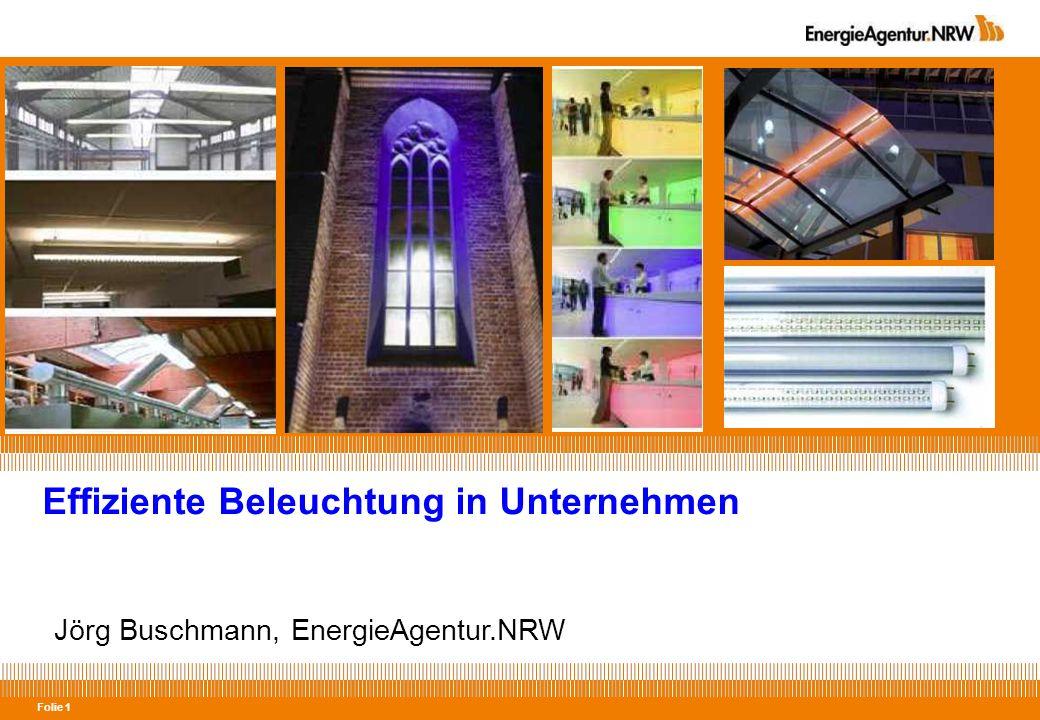 Effiziente Beleuchtung in Unternehmen
