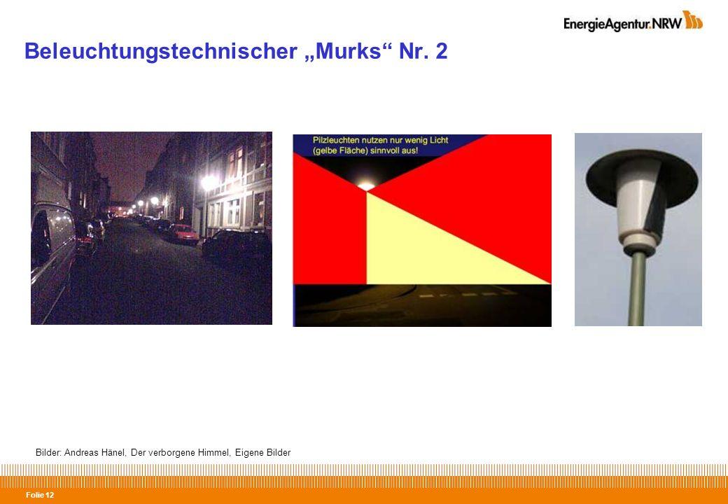 """Beleuchtungstechnischer """"Murks Nr. 2"""