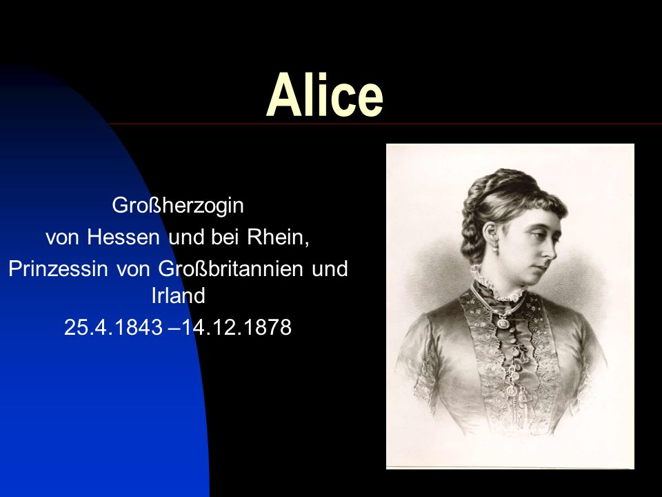Alice Großherzogin von Hessen und bei Rhein,
