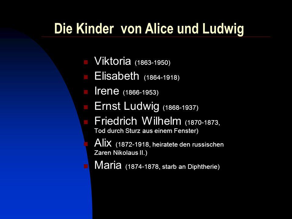 Die Kinder von Alice und Ludwig