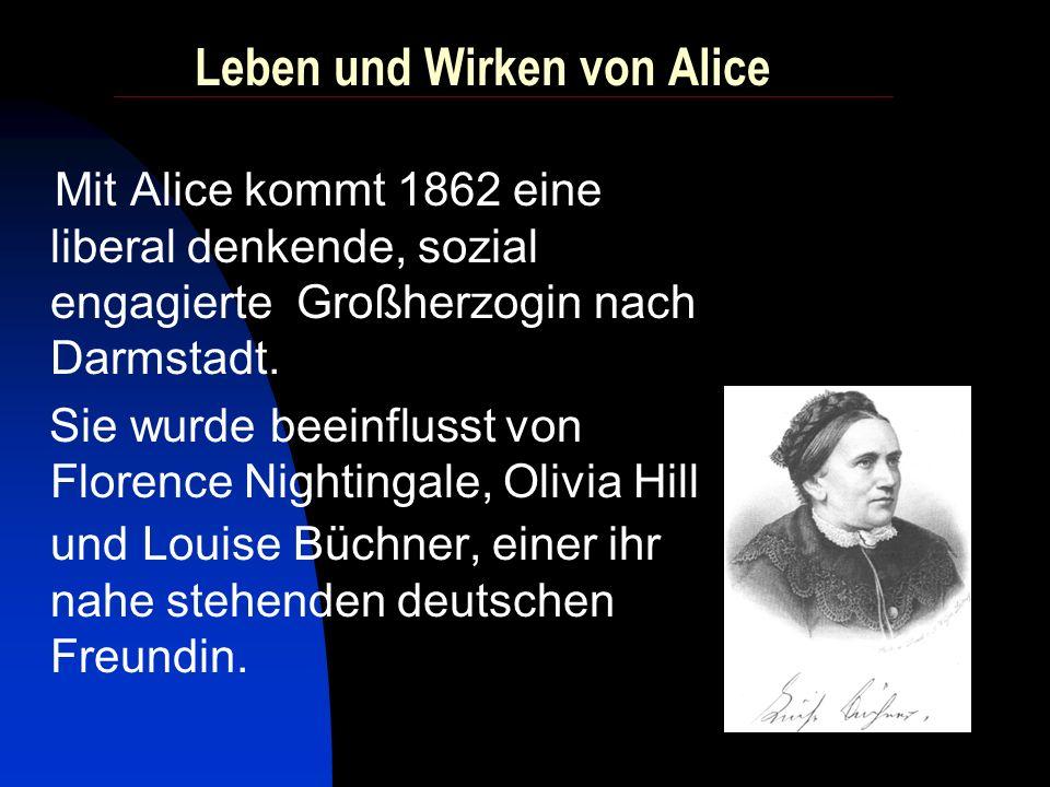 Leben und Wirken von Alice