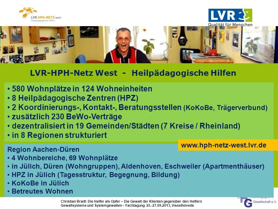 LVR-HPH-Netz West - Heilpädagogische Hilfen