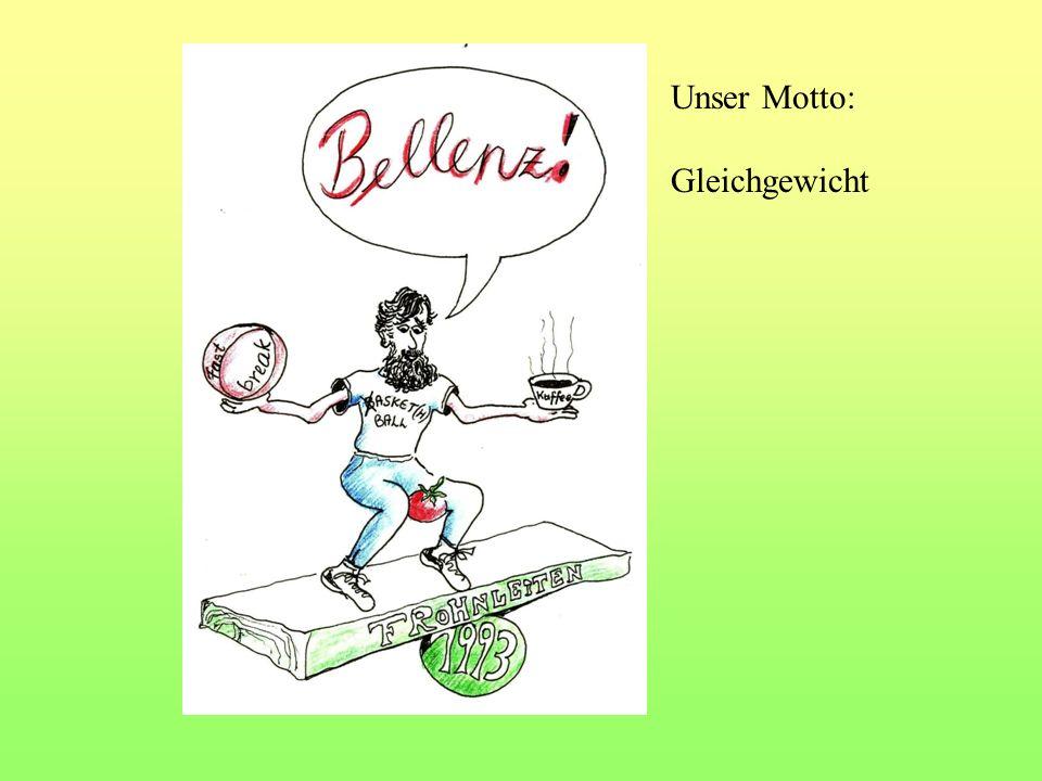 Unser Motto: Gleichgewicht