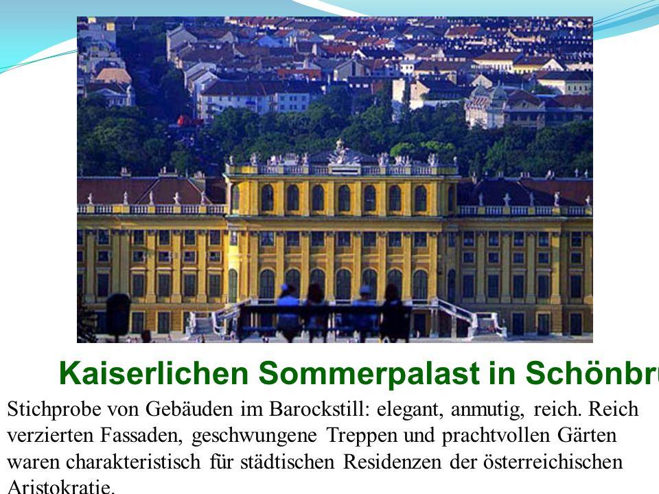 Kaiserlichen Sommerpalast in Schönbrunn