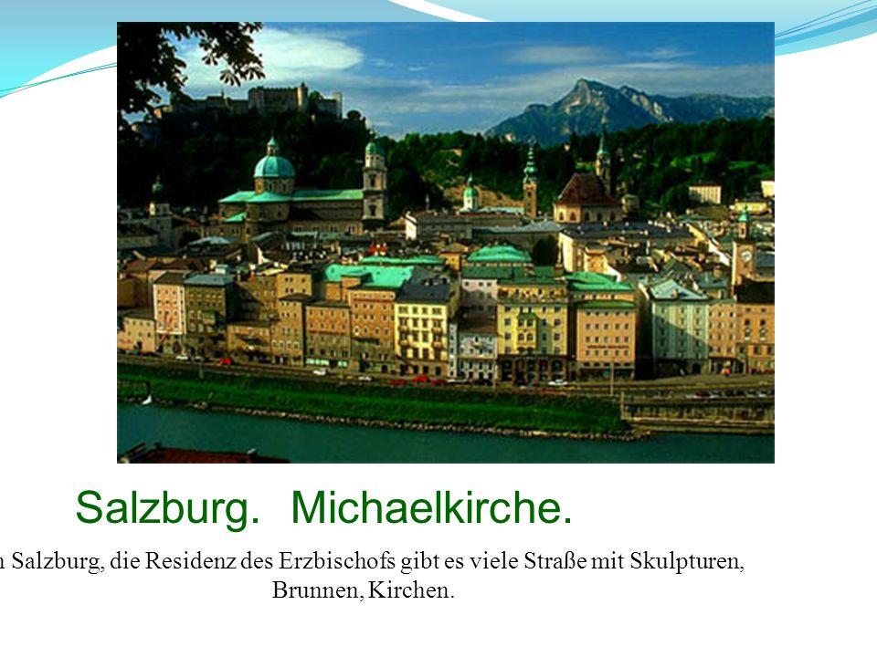 Salzburg. Michaelkirche.