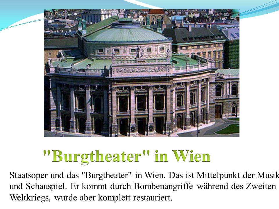 Burgtheater in Wien
