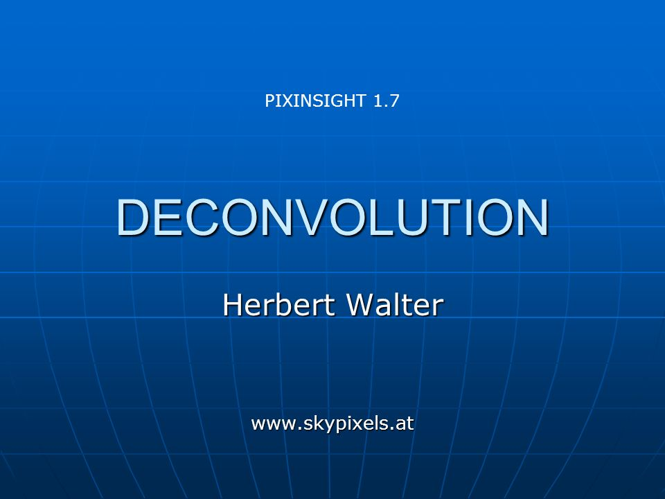 Herbert Walter www.skypixels.at