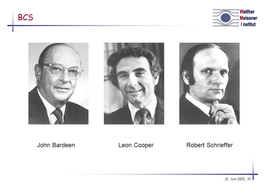 BCS John Bardeen Leon Cooper Robert Schrieffer
