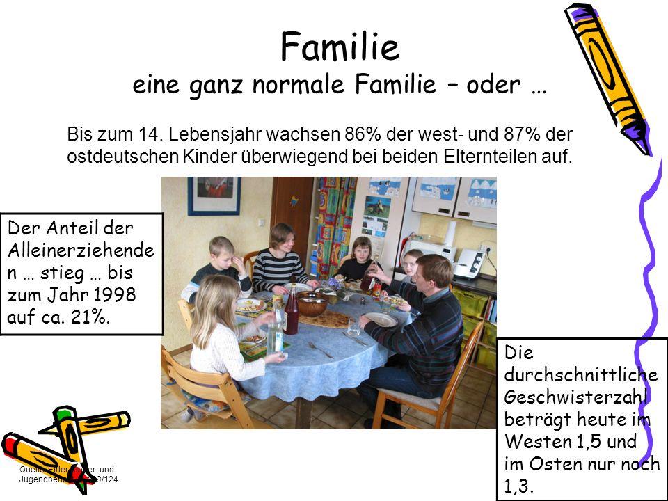 Familie eine ganz normale Familie – oder …