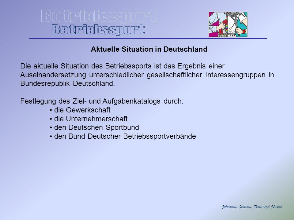 Aktuelle Situation in Deutschland