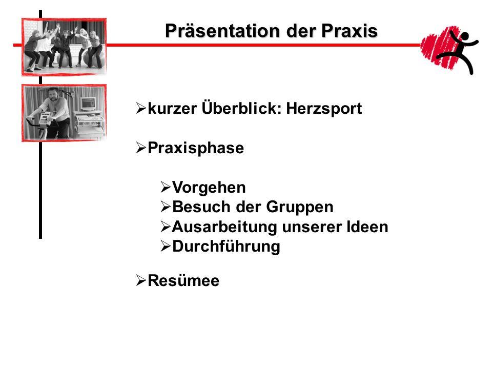 Präsentation der Praxis